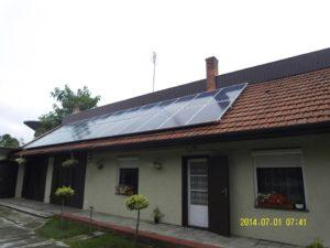 5kW-os napelemes rendszer
